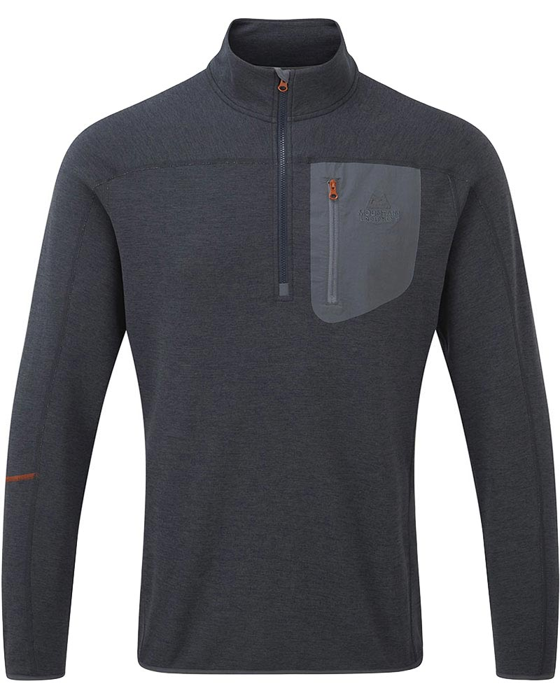 Mountain Equipment Men's Integrity Zip T-Shirt Cosmos 0