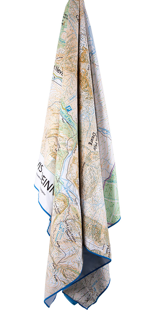 Product image of Lifeventure SoftFibre OS Map Towel - Giant - Ben Nevis