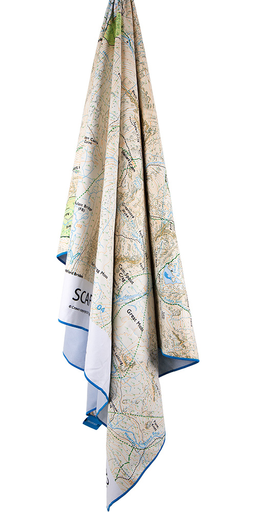 Product image of Lifeventure SoftFibre OS Map Towel - Giant - Scafell Pike