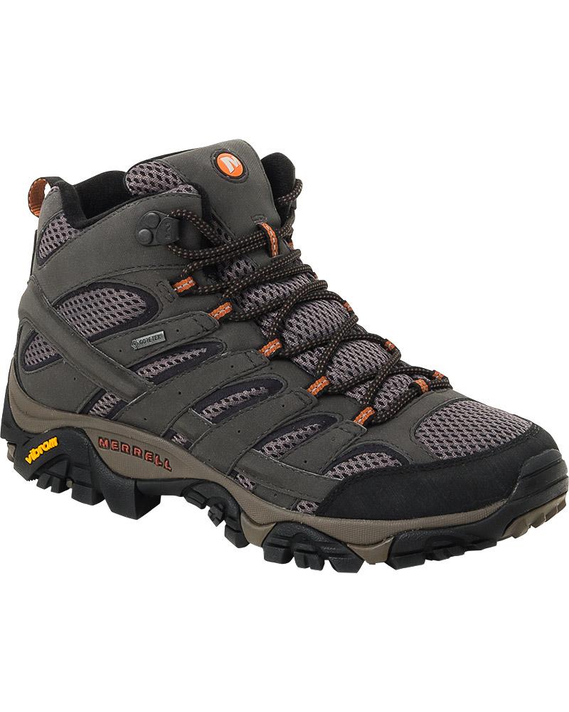 Merrell Men's Moab 2 Mid GORE-TEX Walking Boots 0