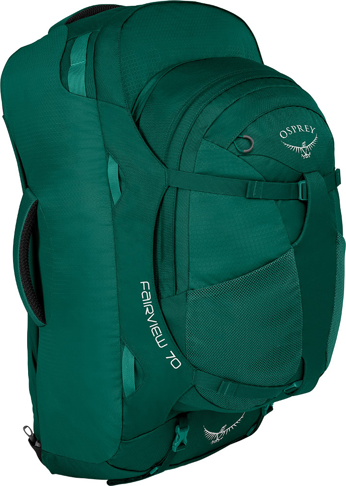 Osprey Women's Fairview 70 Backpack Rainforest Green 0