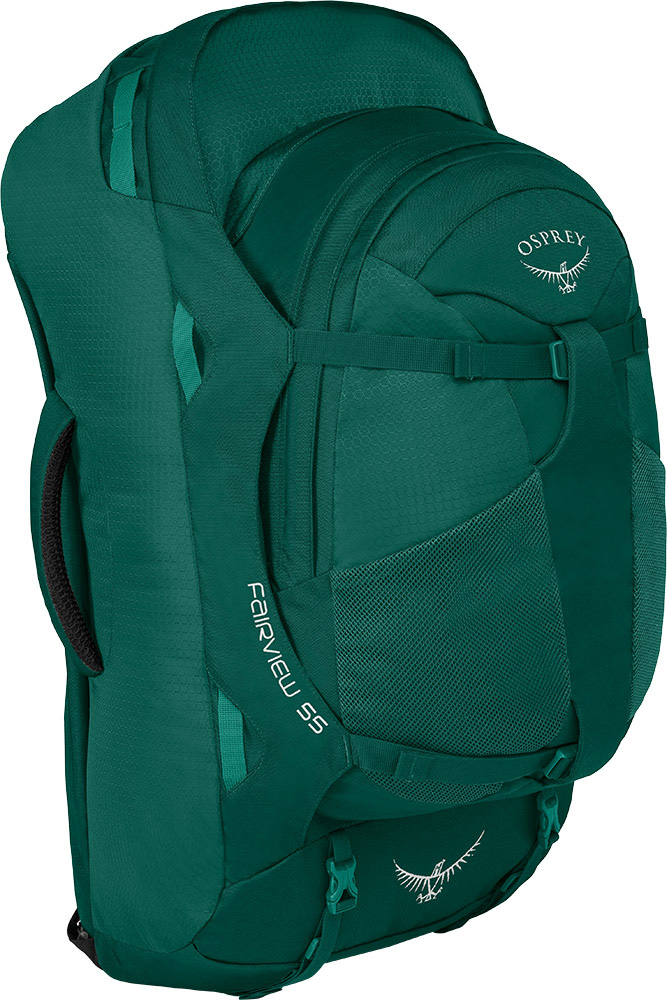 Osprey Women's Fairview 55 Backpack Rainforest Green 0