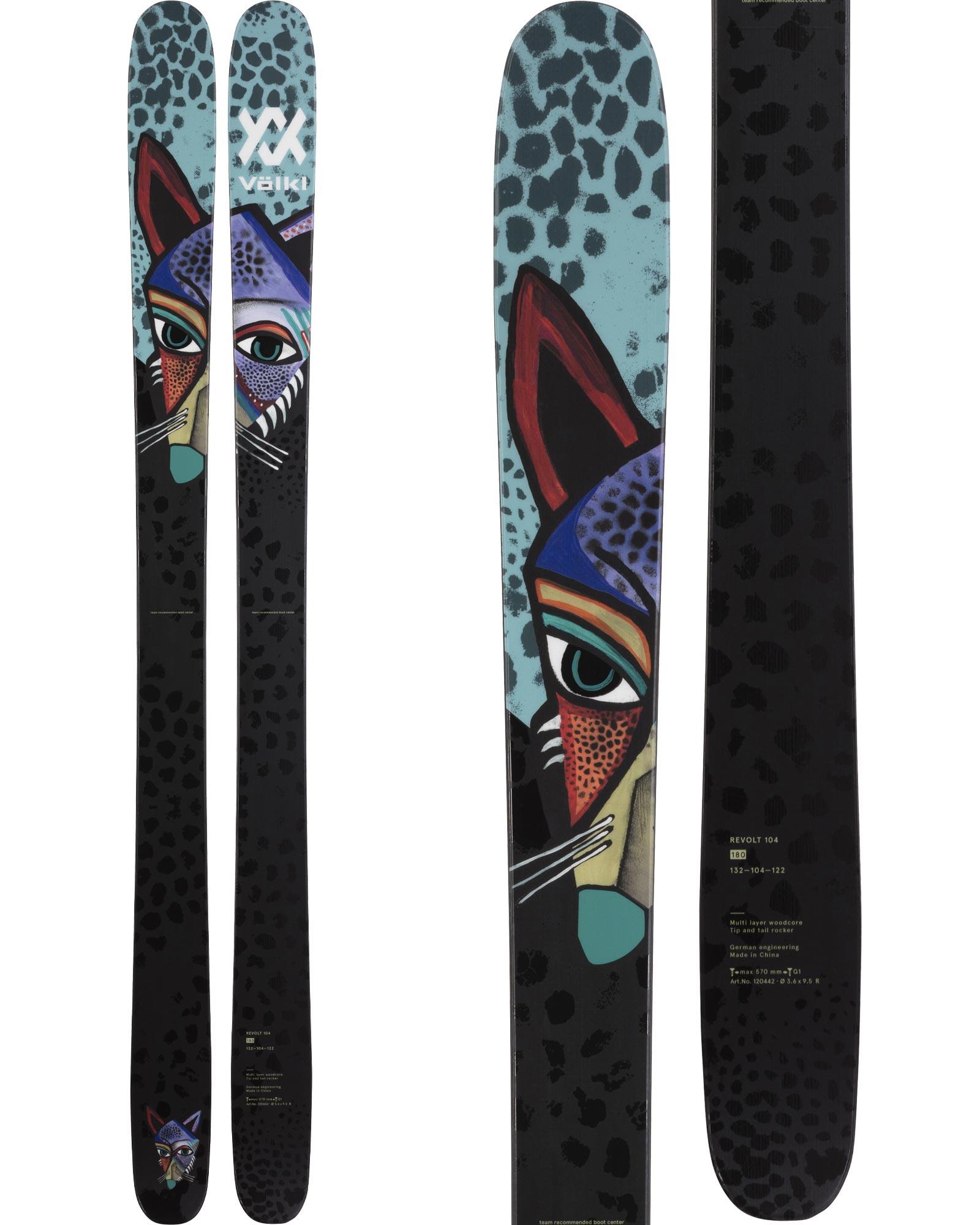 Volkl Revolt 104 Skis 2021 0
