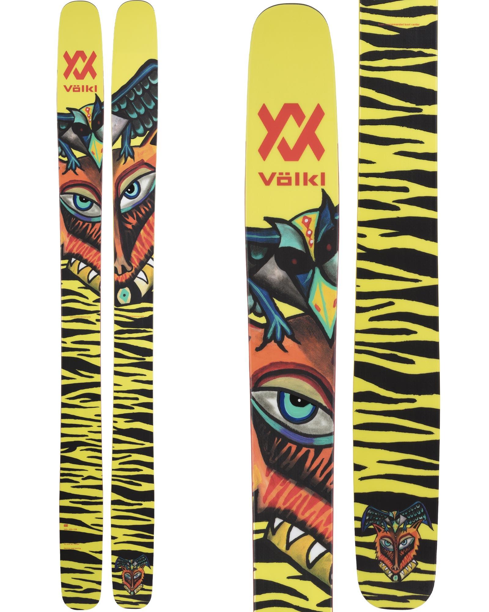 Volkl Men's Revolt 121 Freestyle Skis 2020 / 2021 0