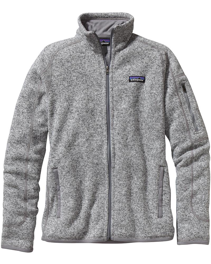 Patagonia Women's Better Sweater Jacket Birch White 0