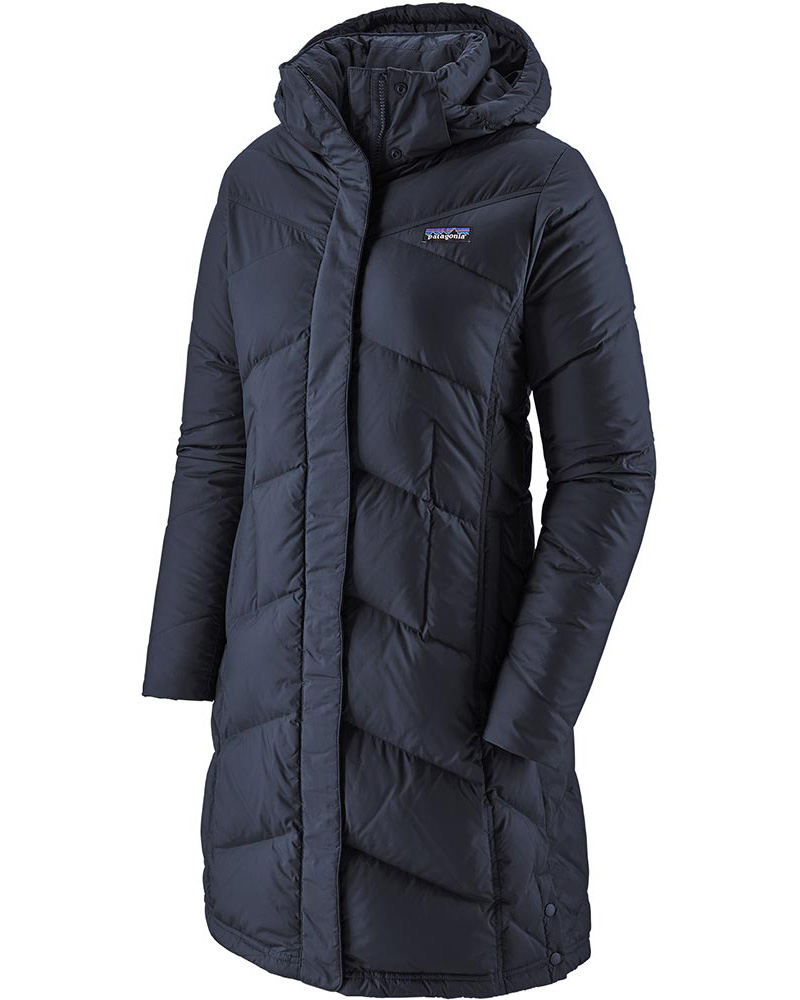 Patagonia Women's Down With It Parka Jacket Neo Navy 0