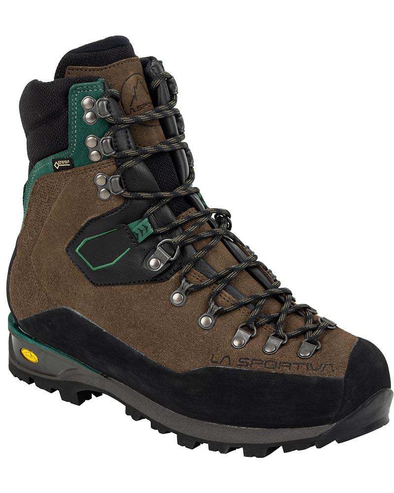 La Sportiva Men's Karakorum HC GORE-TEX Mountaineering Boots Mocha/Forest 0