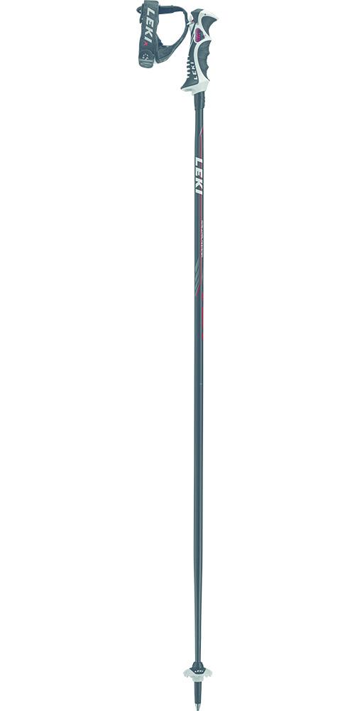 Leki Speed S Ski Poles 2019 / 2020 Black/White/Red/Grey 0