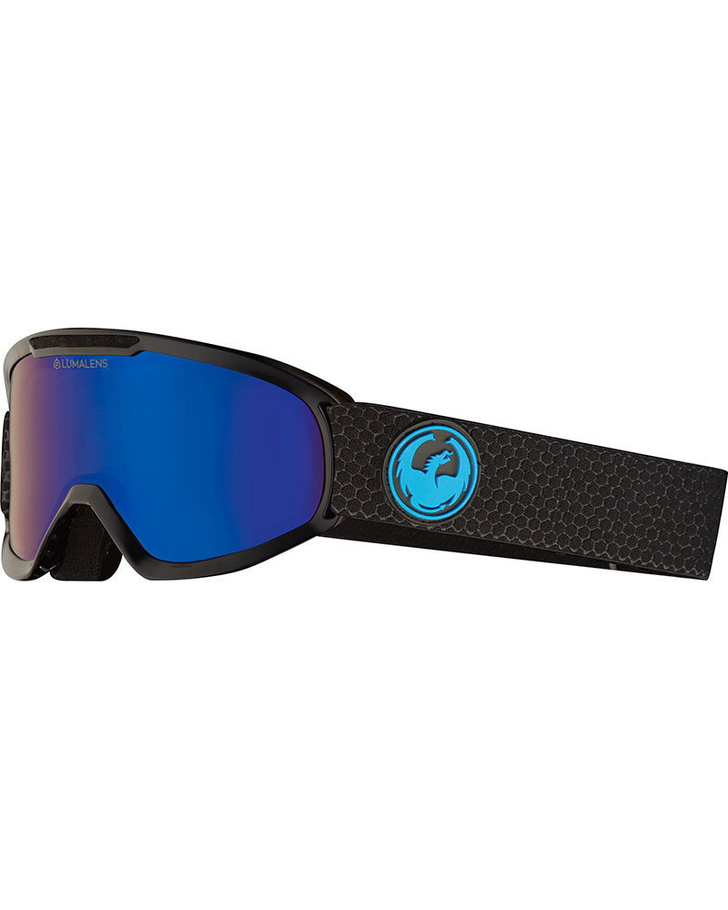 Dragon DX2 Split / Lumalens Blue Ionized + Lumalens Amber Goggles 2019 / 2020 0