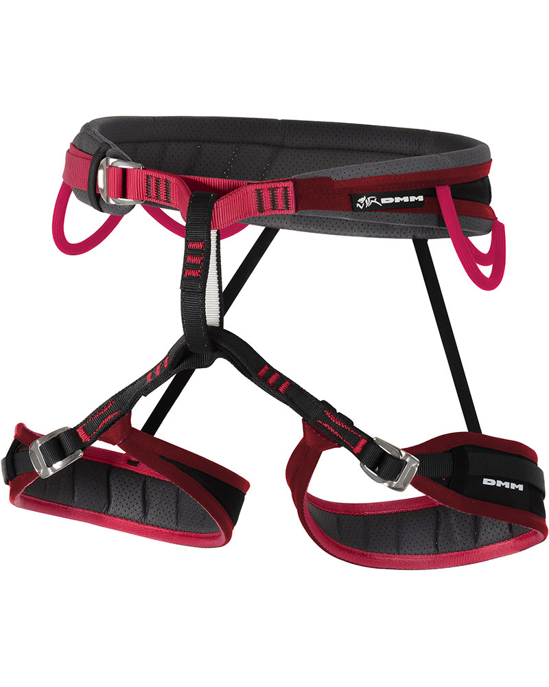 DMM Men's Mithril Climbing Harness Red 0