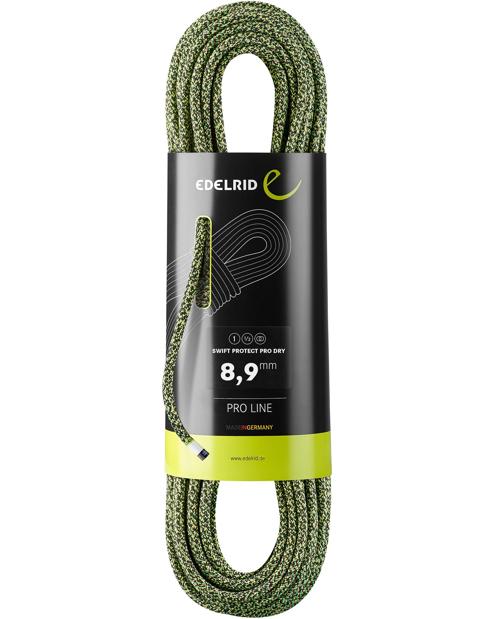Edelrid Swift Protect Pro Dry 8.9mm x 70m Rope 0