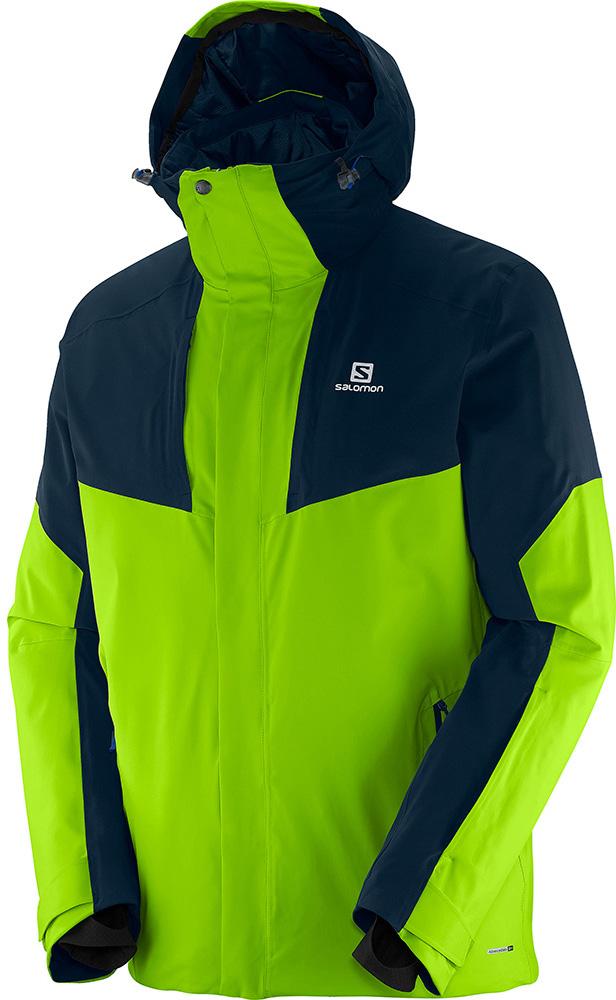 Salomon Men's Ice Rocket AdvancedSkin Ski Jacket Ellis