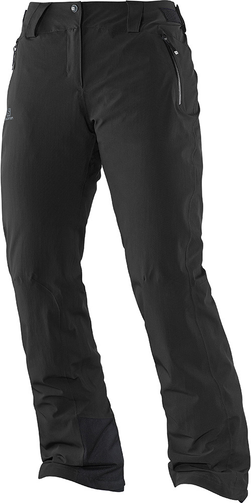 Salomon Women's Iceglory AdvancedSkin Ski Pants Black 0