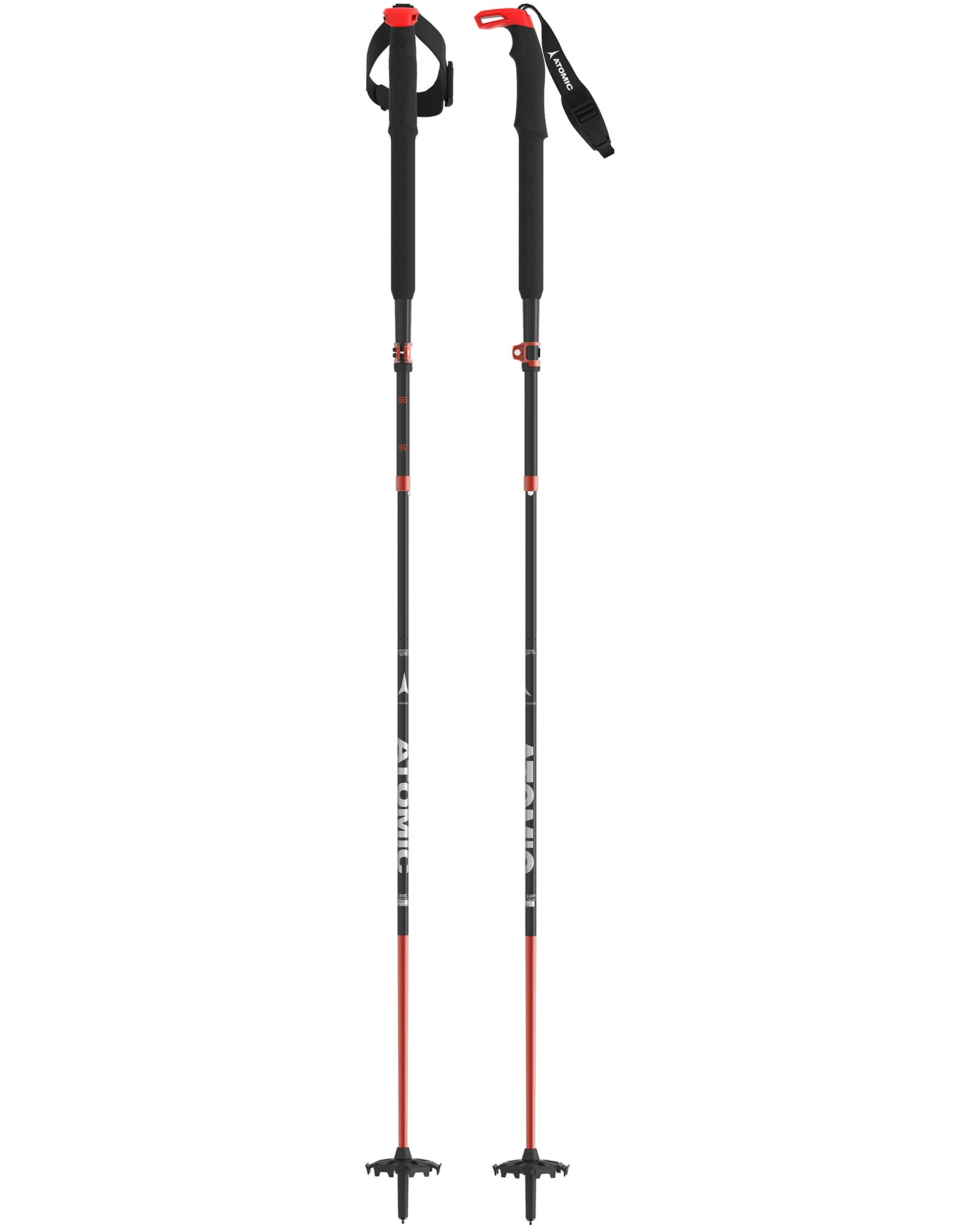 Atomic Men's BCT Mountaineering Carbon SQS Ski Poles 2020 / 2021 0