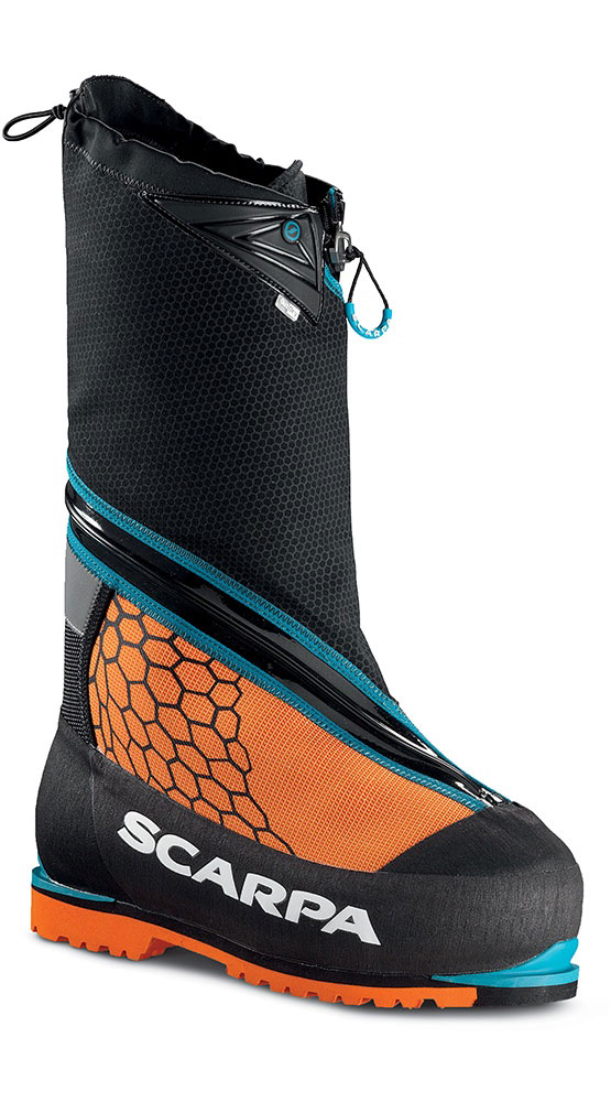Scarpa Phantom 8000 Mountaineering Boots Orange 0