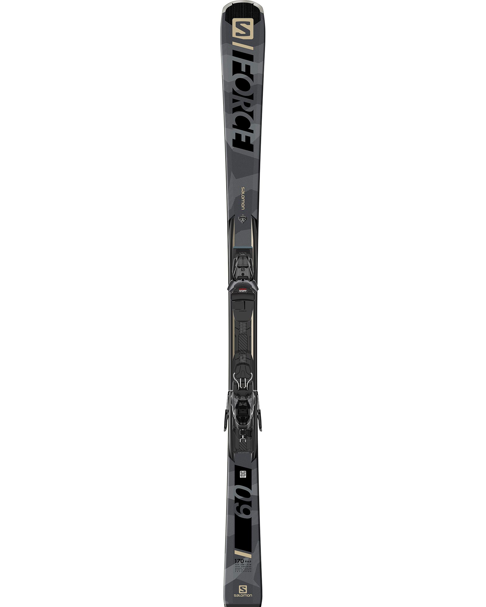 Salomon Men's S/Force 9 Piste Skis + M11 GW L80 Bindings 2020 / 2021 0
