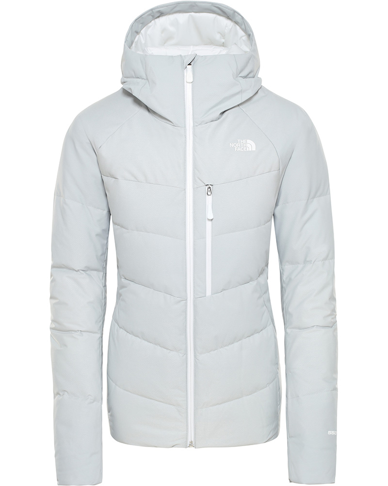 The North Face Women's Heavenly Down Ski Jacket High Rise Grey 0