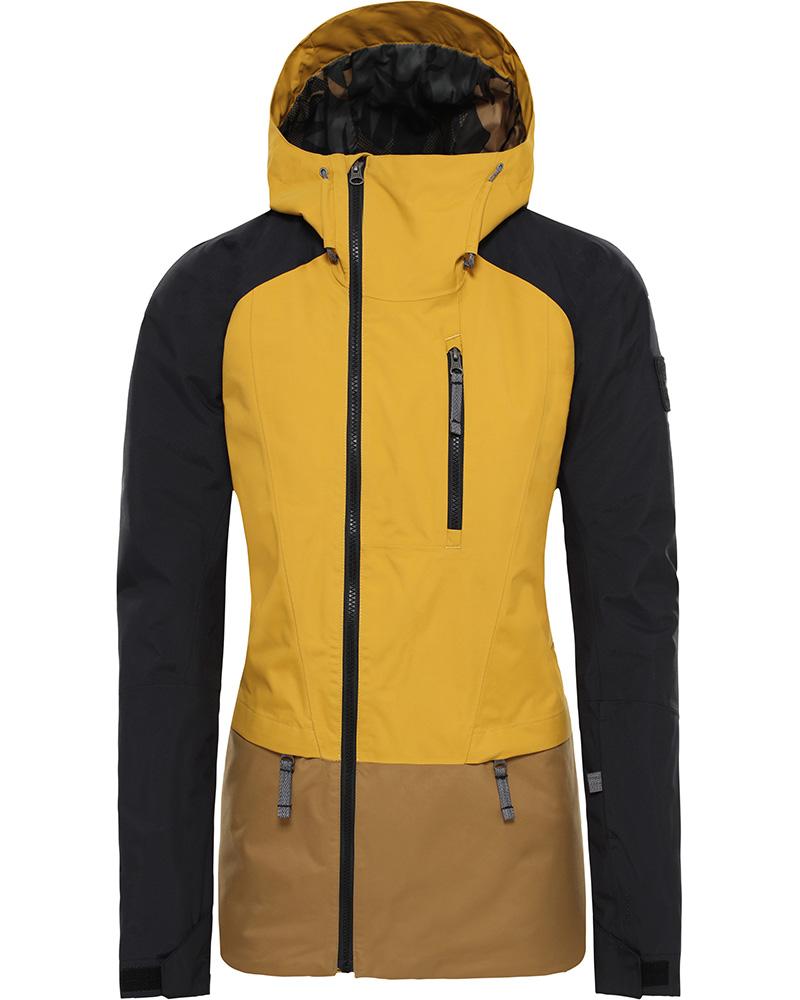 The North Face Women's Superlu Ski Jacket Golden Spice/TNF Black/Khaki 0