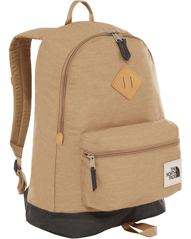 The North Face Berkeley Backpack Kelp Tan Dark Heather/Asphalt Grey Light Heather 0