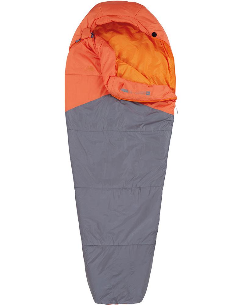 The North Face Aleutian 40/4 Sleeping Bag Monarch Orange/Zinc Grey 0