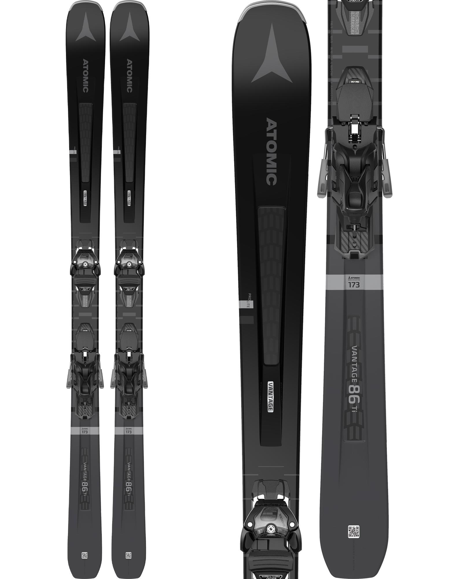 Atomic Men's Vantage 86 Ti All Mountain Skis + Warden 13 MNC Bindings 2020 / 2021 0