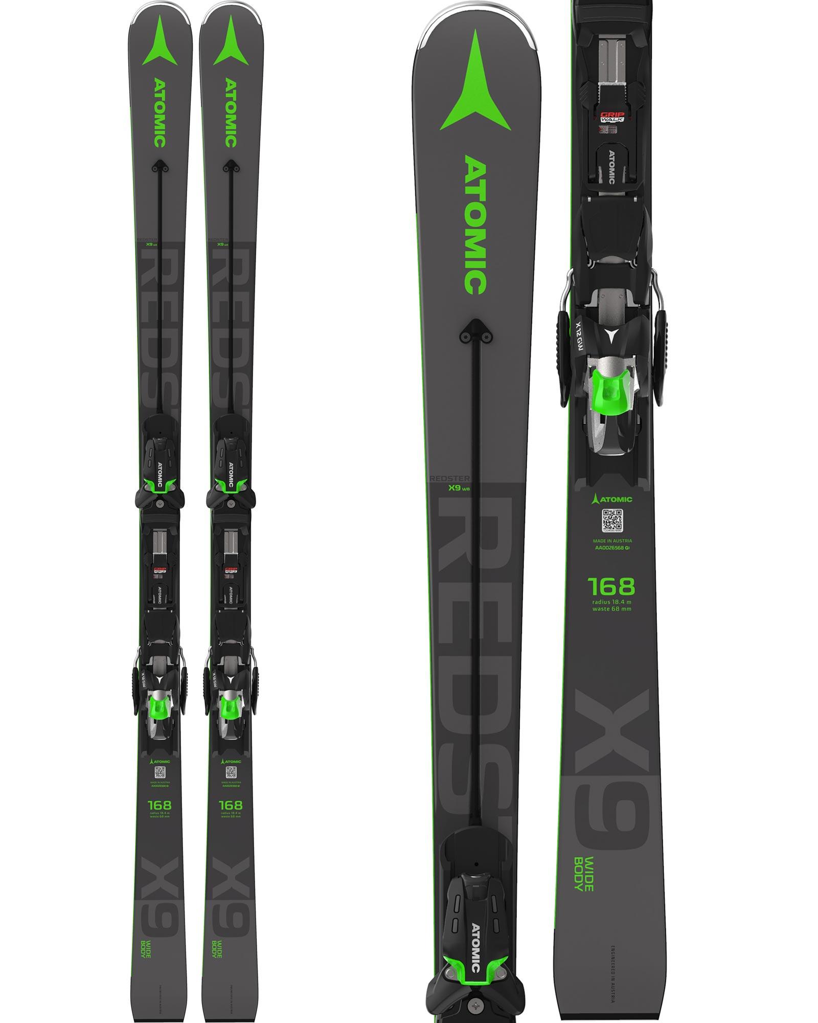 Atomic Men's Redster X9 WB Piste Skis + X 12 GW Bindings 2020 / 2021 0