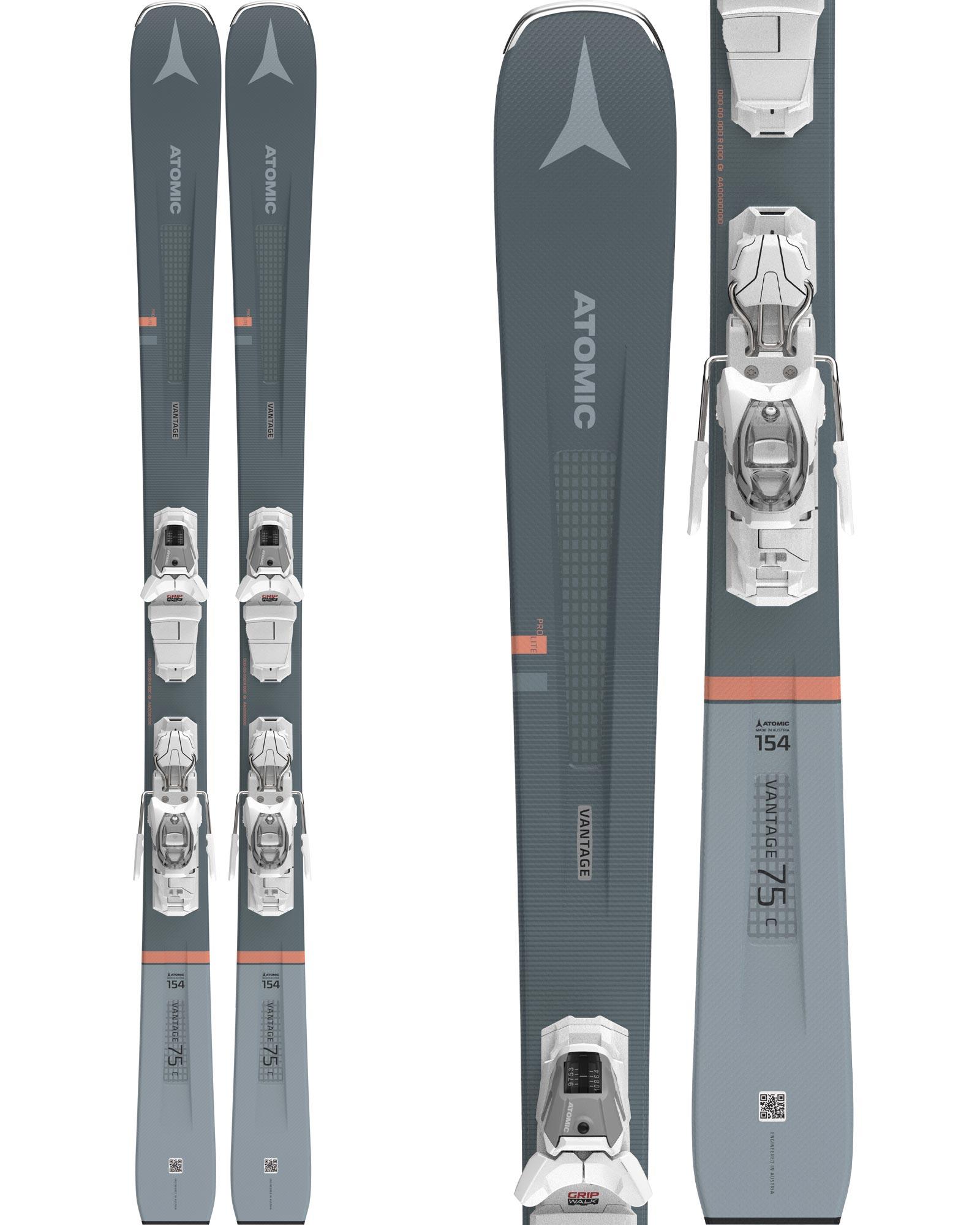 Atomic Women's Vantage 75 C Piste Skis + M 10 GW Bindings 2020 / 2021 0