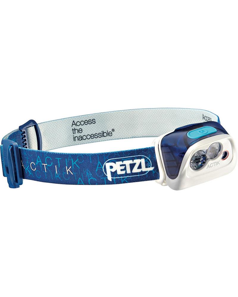 Petzl Actik Head Torch Blue 0