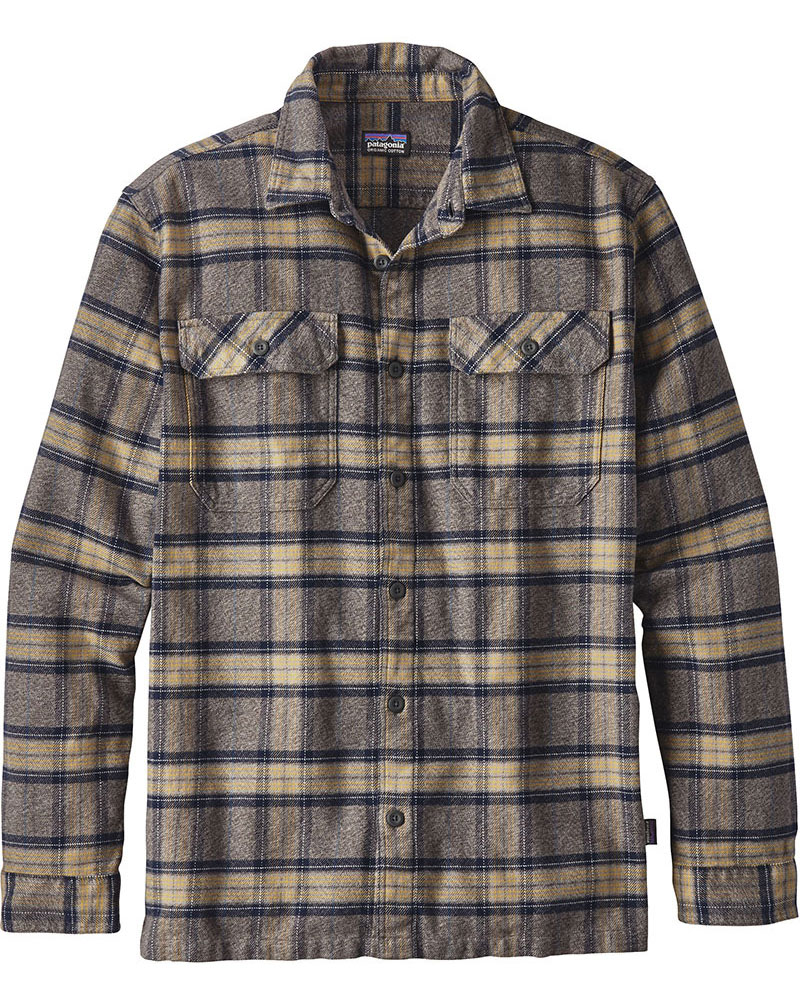 Patagonia Men's L/S Fjord Flannel Shirt 0