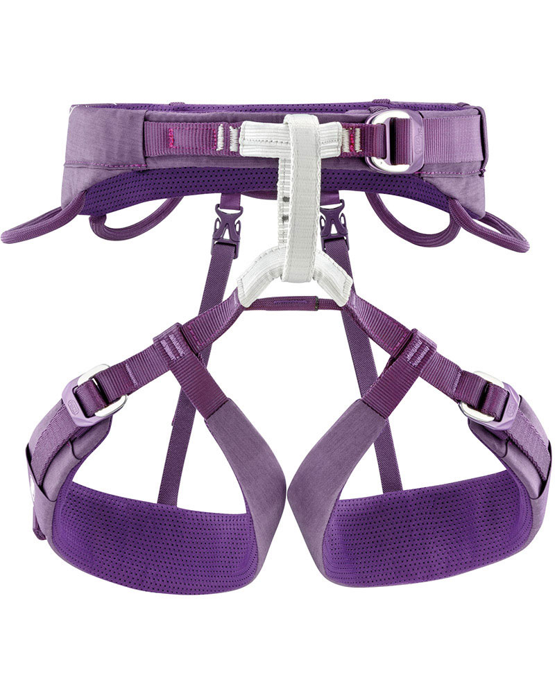 Petzl Women's Luna Climbing Harness Violet 0