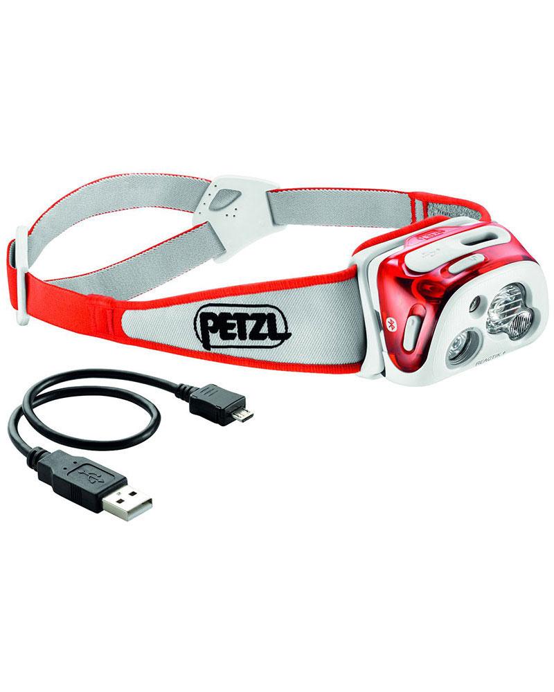 Petzl Reactik+ Head Torch Coral 0