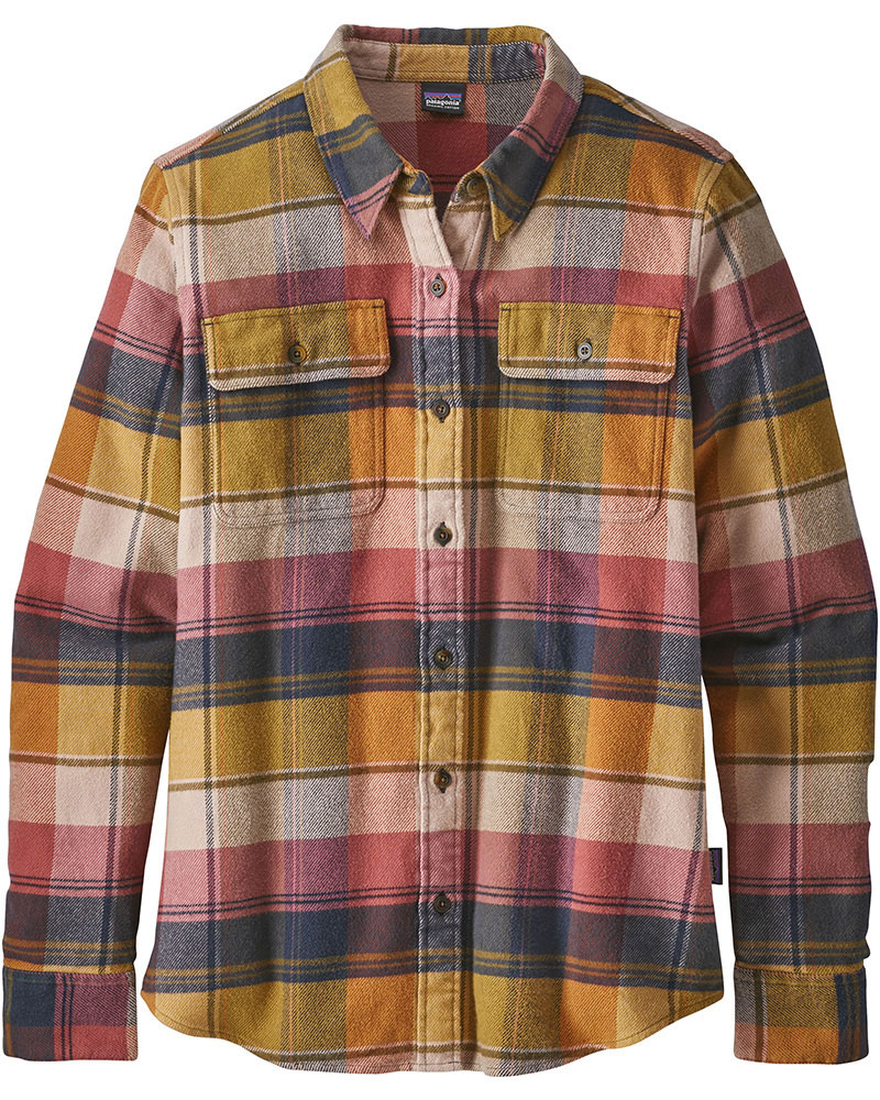 Patagonia Women's L/S Fjord Flannel Shirt 0