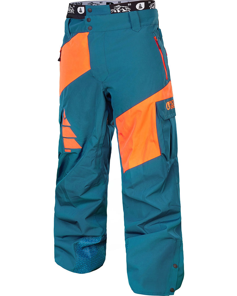 Picture Men's Alpin Snowsports Pants Petrol Blue/Orange 0