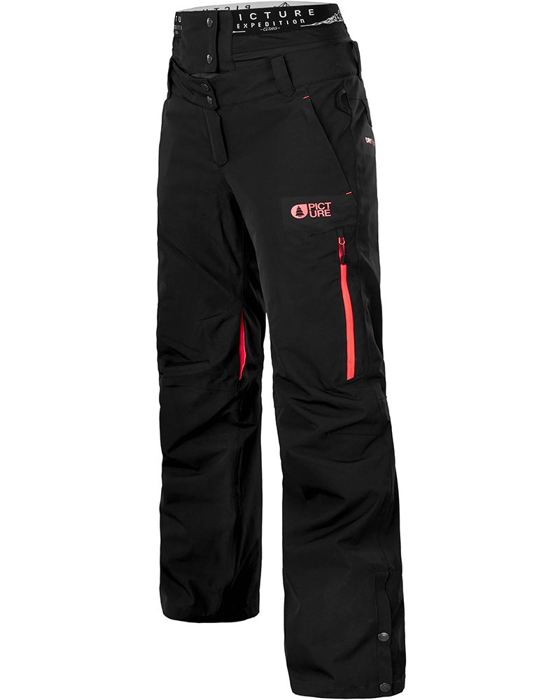 Picture Women's Exa Snowsports Pants Black/Coral 0