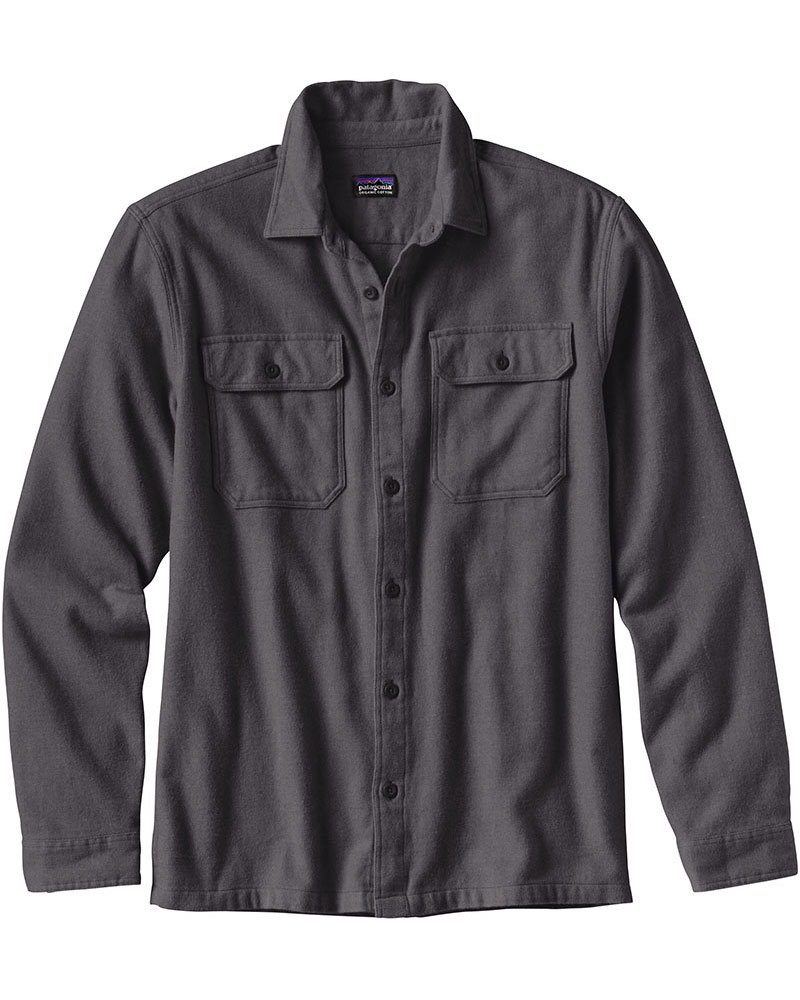 Patagonia Fjord Flannel Men's Long Sleeve Shirt 0