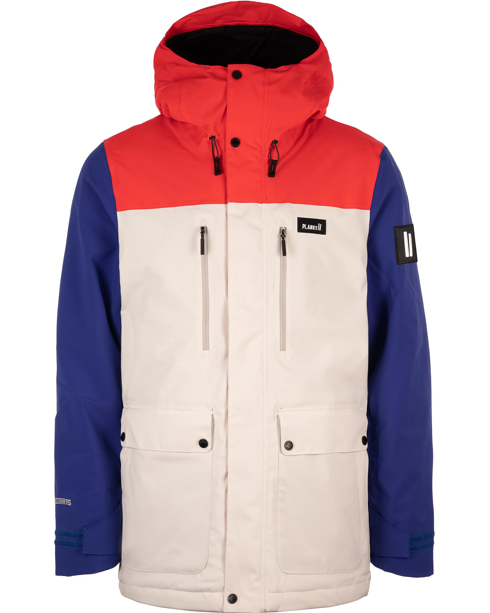 Planks Men's Good Times Insulated Ski Jacket 0