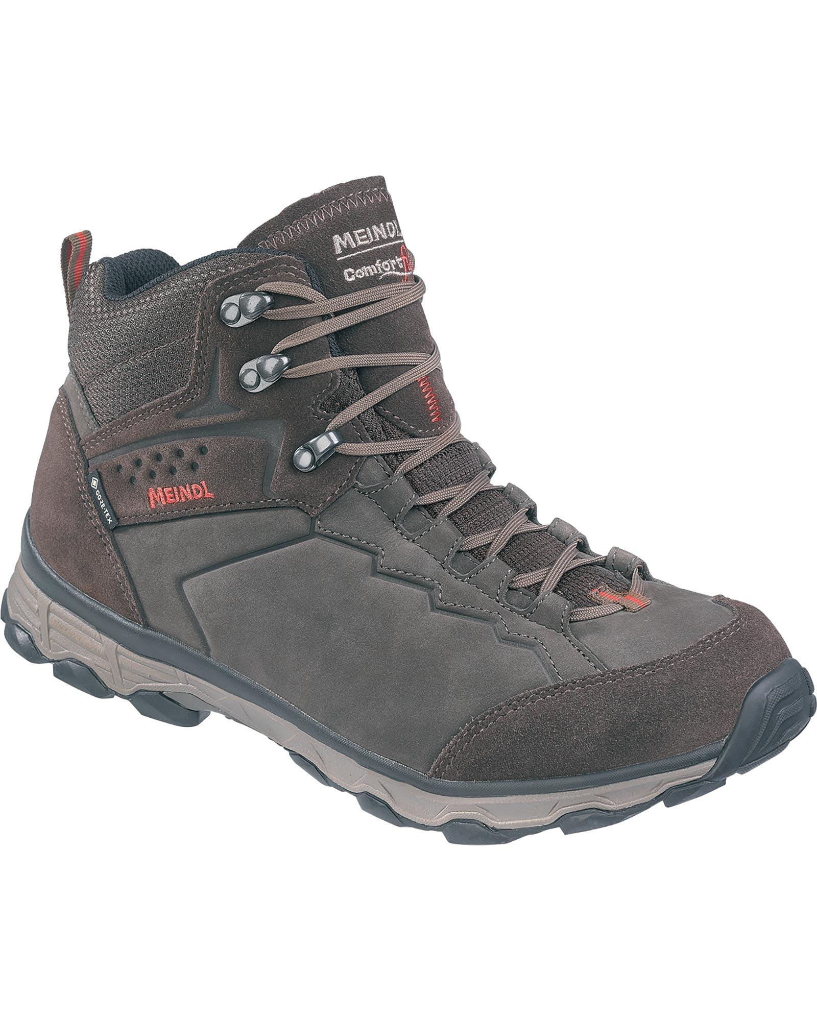 Meindl Men's Grado GORE-TEX Walking Boots Dark Brown/Red 0