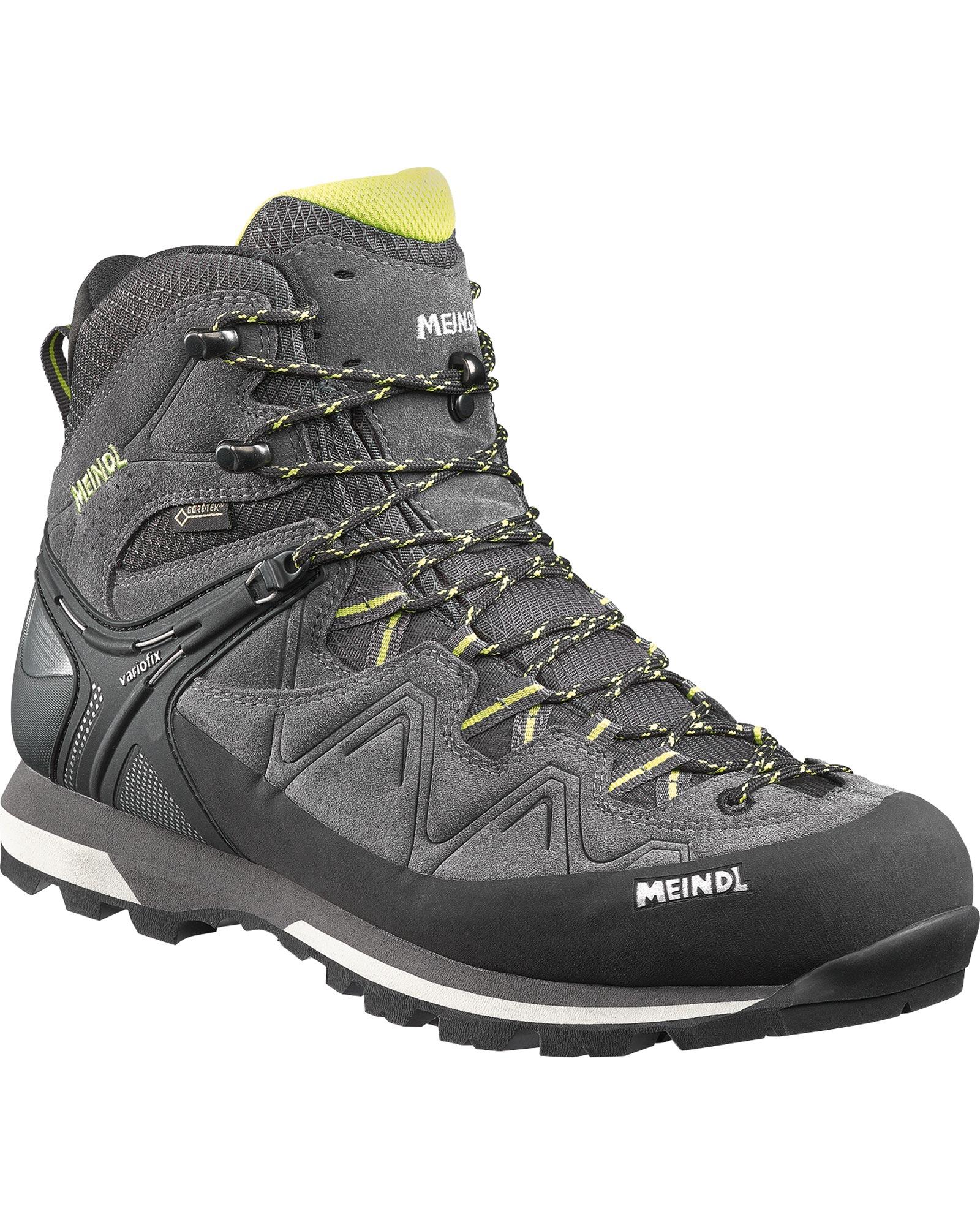 Meindl Men's Tonale GORE-TEX Walking Boots Anthacite/Lemon 0