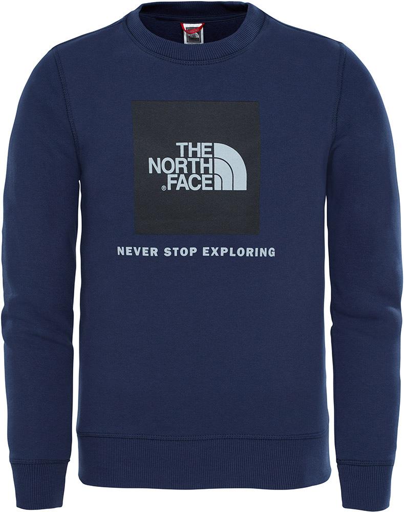 The North Face Youth Box Drew Peak Crew XL 0