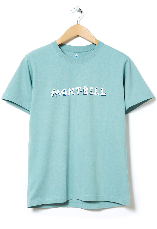 Montbell Pear Skin Cotton Iwa Logo T-Shirt 0