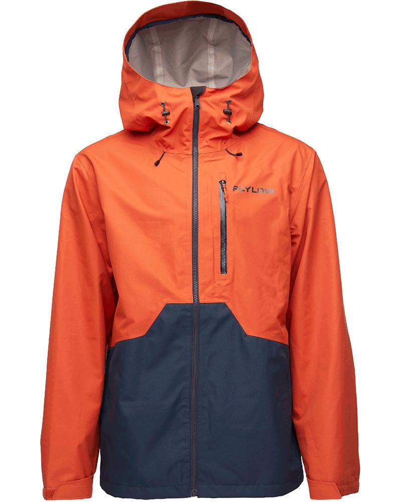 Flylow Men's Knight Ski Jacket Oxide/Midnight 0