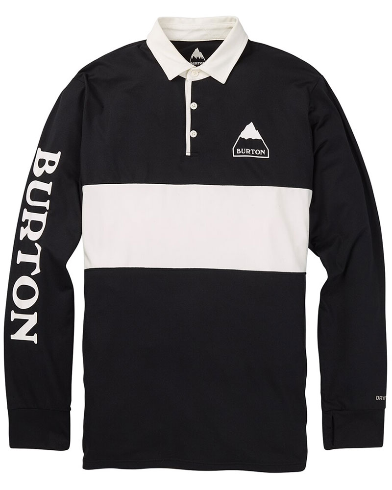 Burton Men's Midweight Rugby Shirt True Black 0