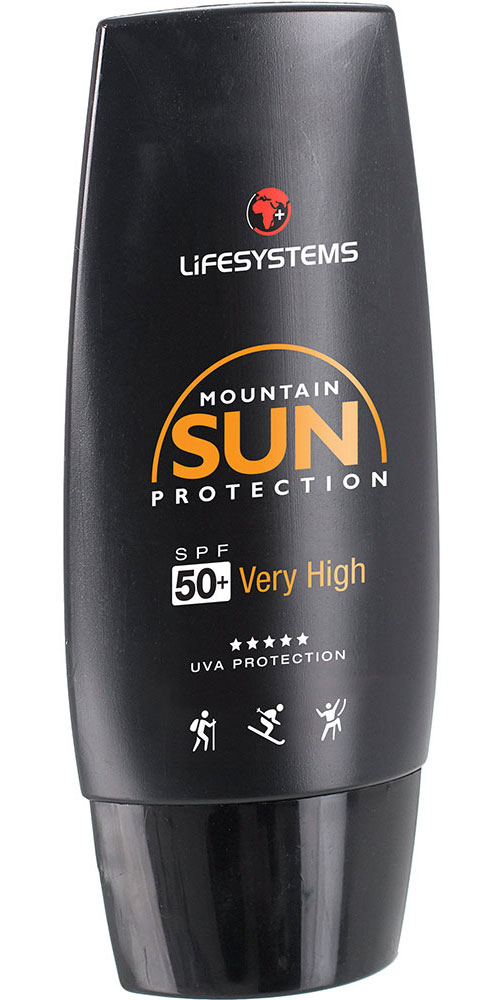 Lifesystems Mountain SPF 50+ - 50ml Suncream 0