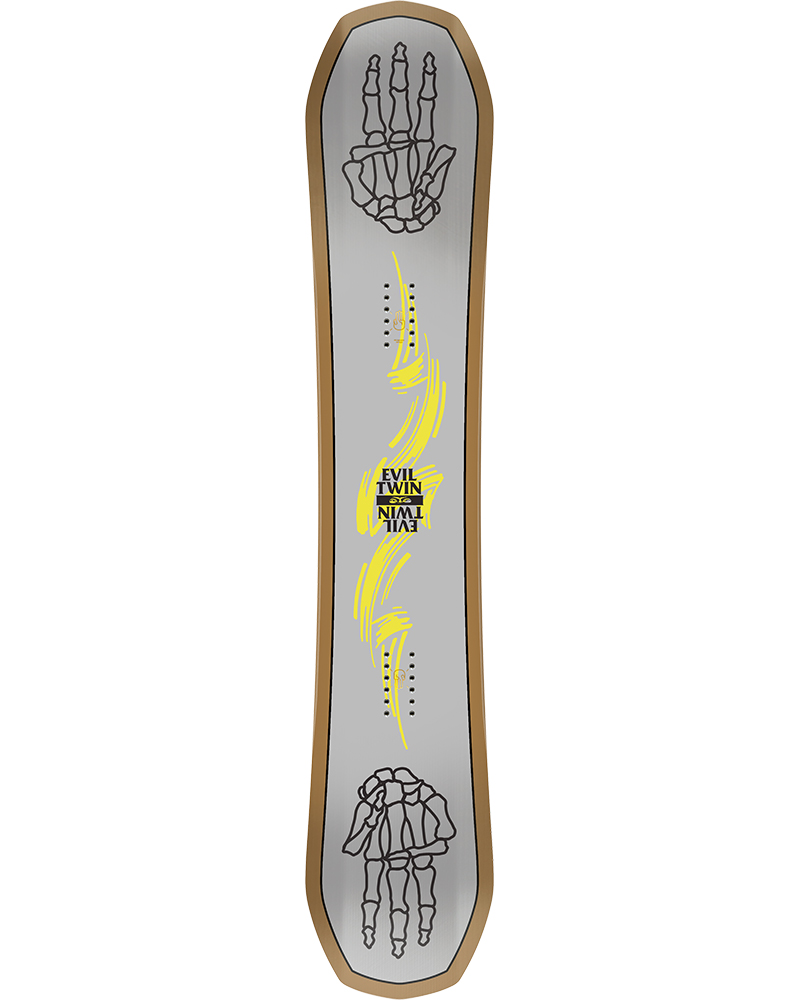 Bataleon Men's Evil Twin Snowboard 2019 / 2020 No Colour 0