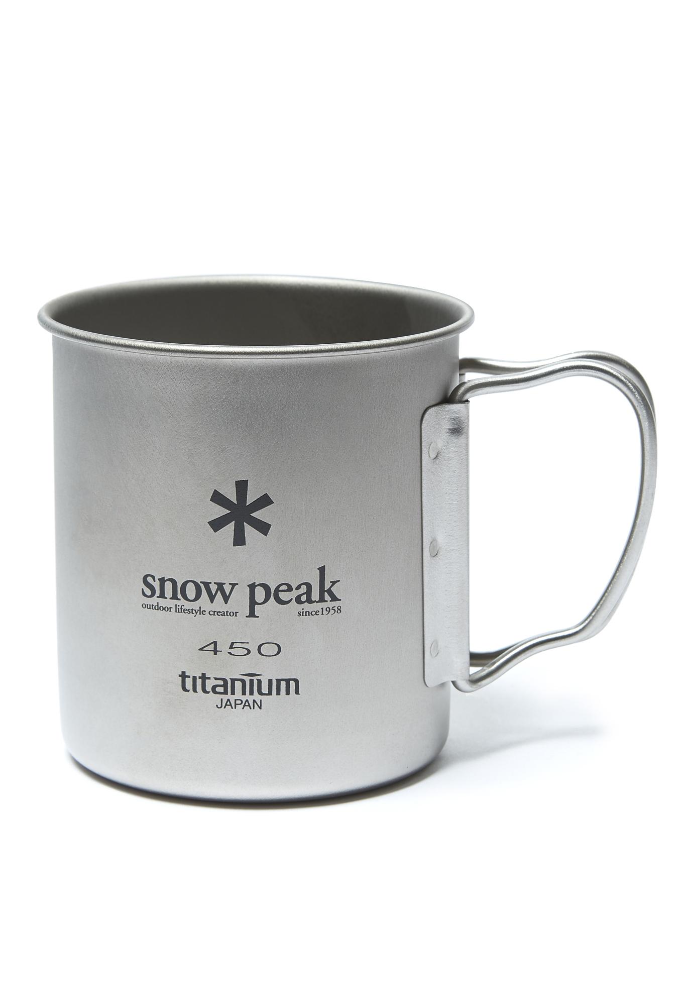 Snow Peak Titanium Single Cup 450ml 0