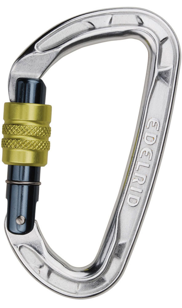 Edelrid Pure Screwgate Carabiner Silver 0
