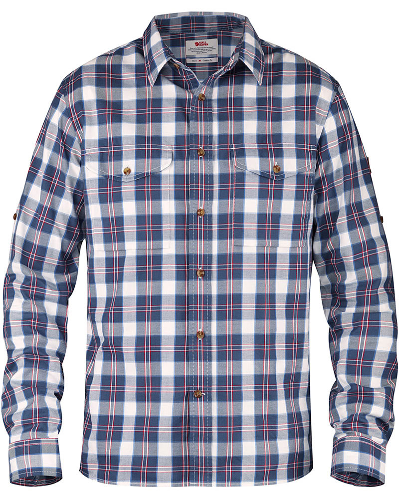 Fjallraven Men's L/S Singi Flannel Shirt 0
