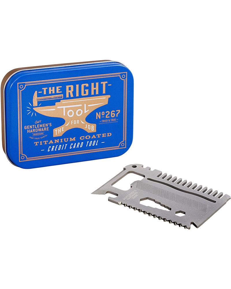 Gentlemen's Hardware Credit Card Tool No Colour 0