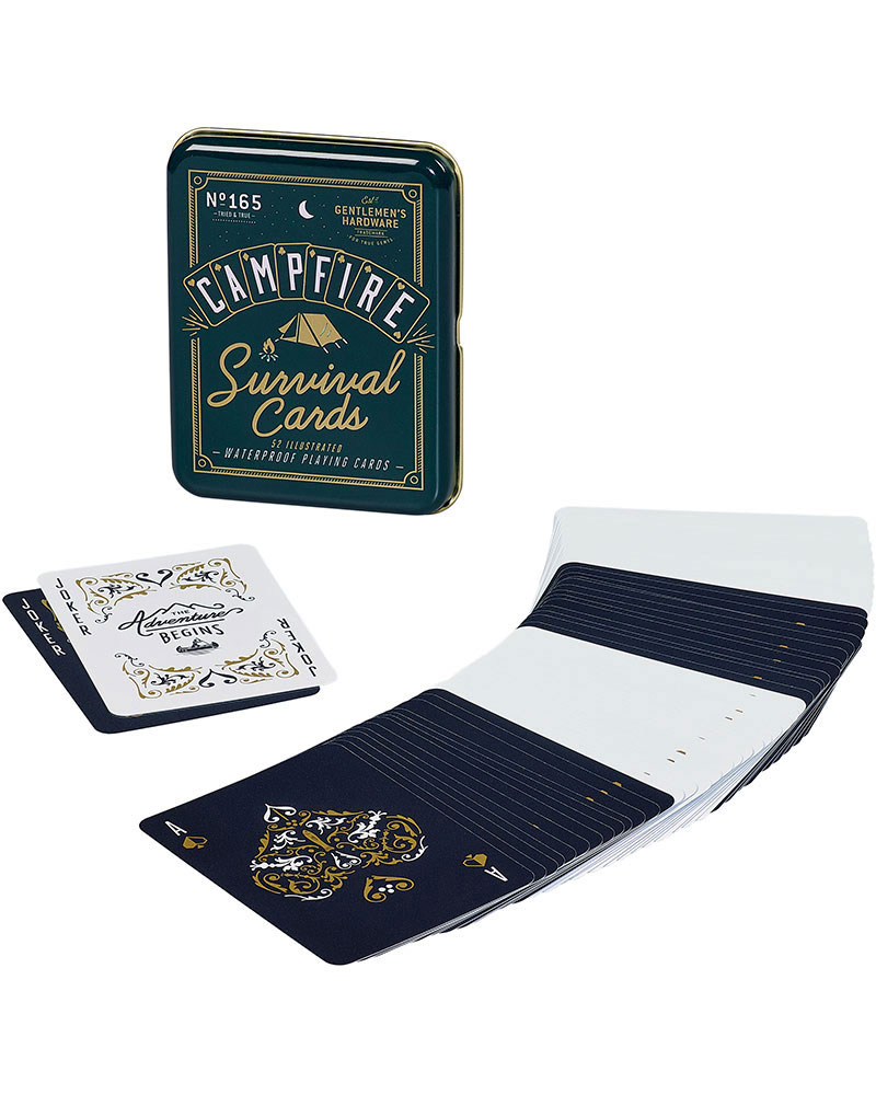 Gentlemen's Hardware Campfire Survival Cards No Colour 0