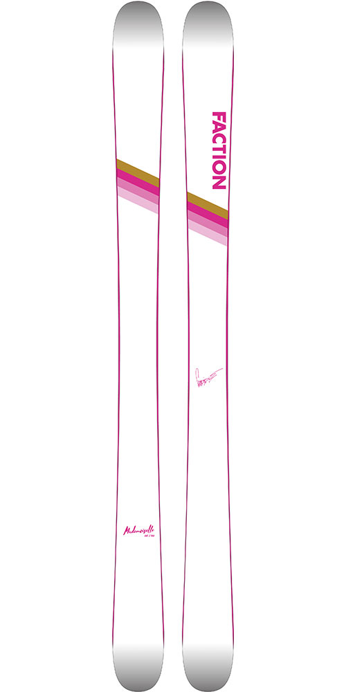Faction Women's CT 2.0x Mademoiselle Ltd Edition Freestyle Skis 2019 / 2020 0